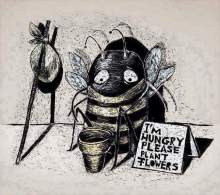 poor bee